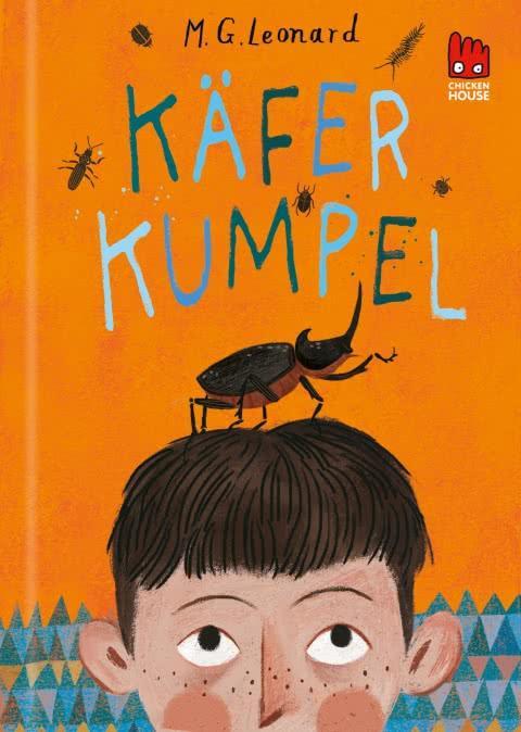 Titelseite des Buchs Käfer Kumpel.