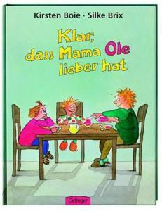 Titelseite des Buchs Klar, dass Mama Anna / Ole lieber hat von Kirsten Boje