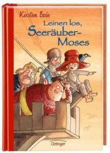 Titelbild Band 2 Seeräuber Moses, Kinder auf dem Ausguck zeigen auf etwas