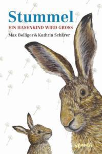 Titelseite des Buchs. Zwei gemalte Hasen schauen sich an.