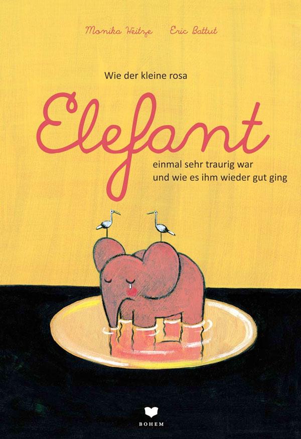Wie der kleine rosa Elefant einmal sehr traurig war