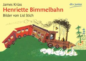 Titelseite des Buchs. Eine Eisenbahn fährt über einen Berg.