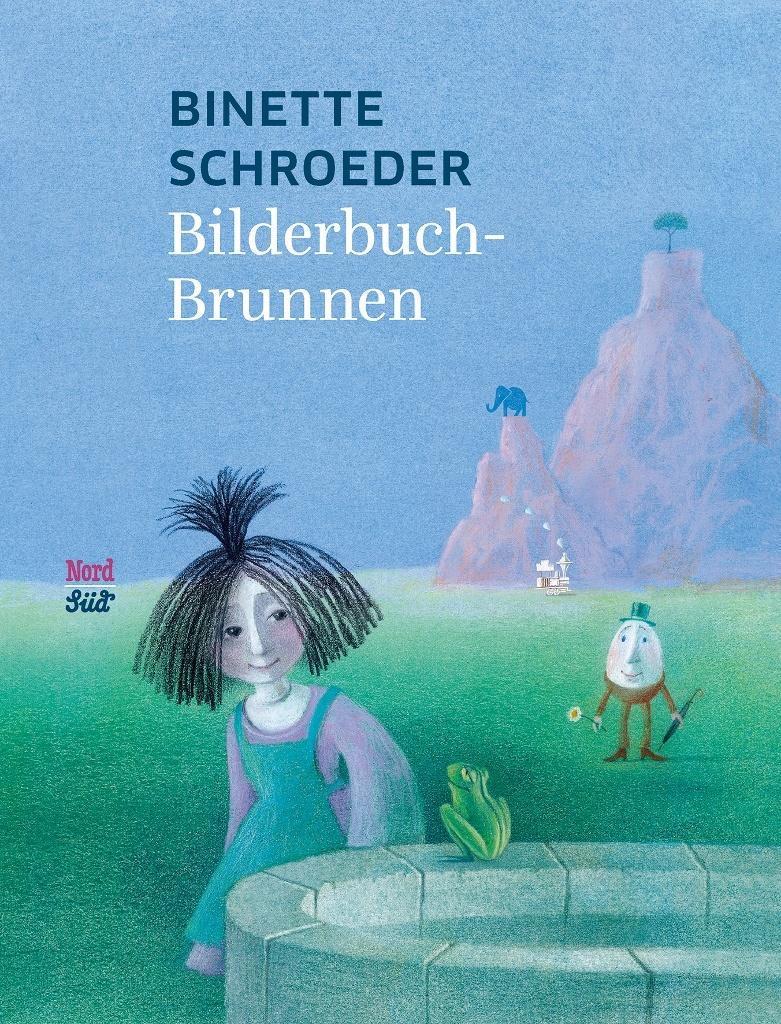 Bilderbuch-Brunnen von Binette Schroeder