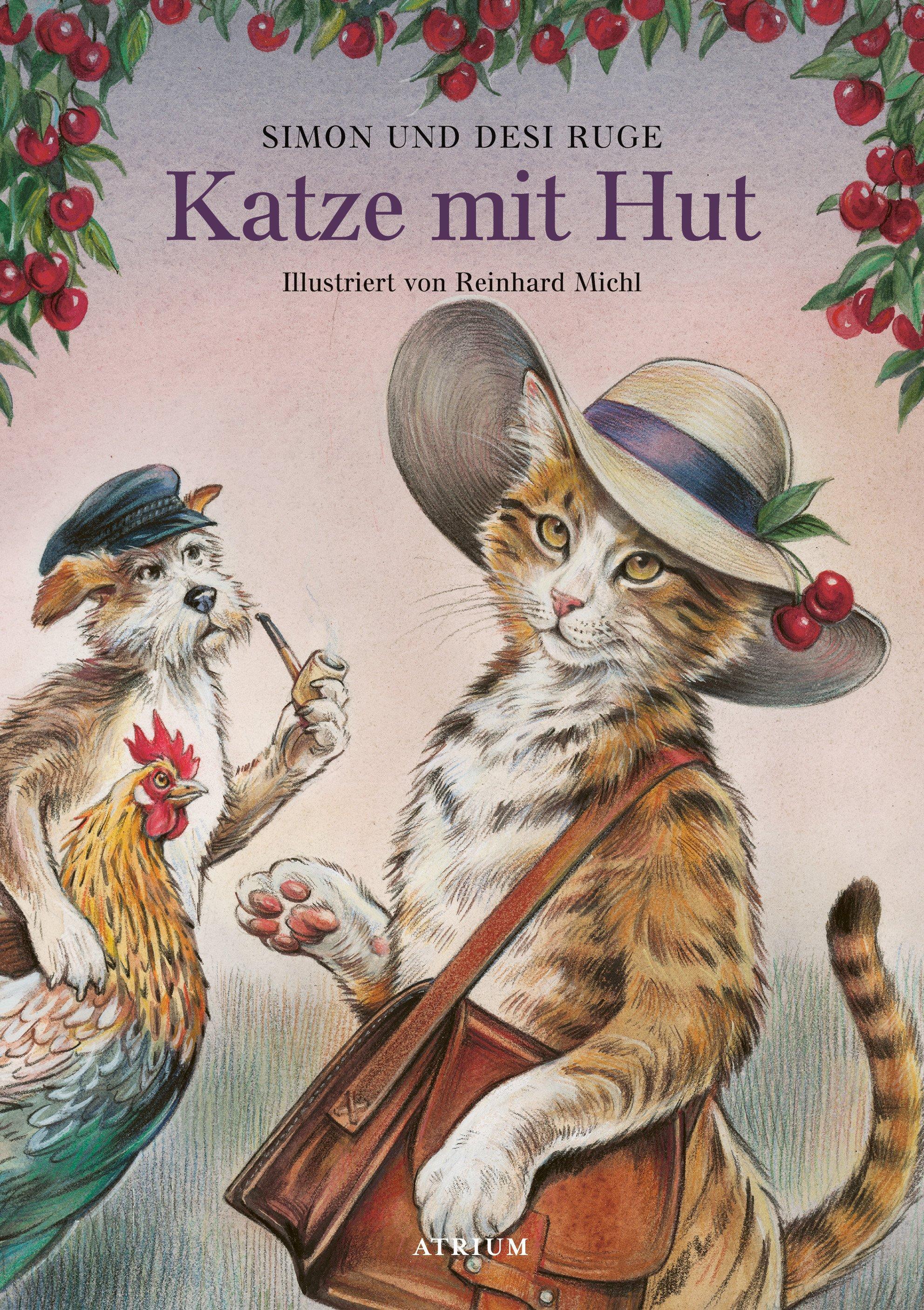 KATZE MIT HUT von Desi u. Simon Ruge
