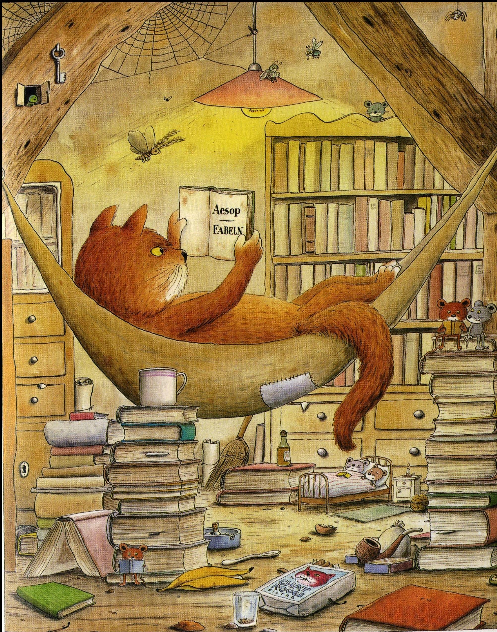 Der Bücherkater