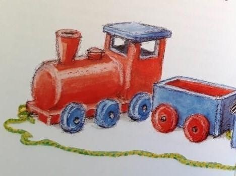 Die Eisenbahn. Vorlese-Geschichte mit Gustav Bär
