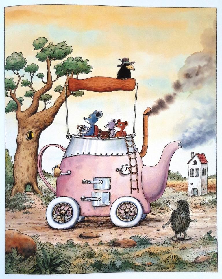 Das Teekannenauto