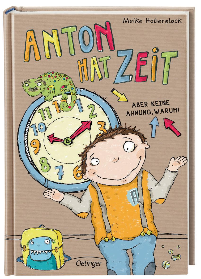 Anton hat Zeit. Aber keine Ahnung, warum!